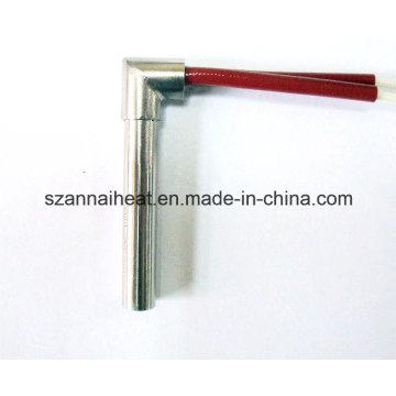 Aquecedor de cartucho em ângulo reto de aço inoxidável para a indústria (DTG-118)