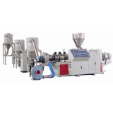 Parallel Twin-Screw Hot Cutting and Pelletizing Extrusion Line (HX-12262)