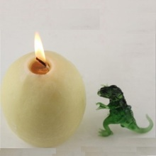 Creative Desk Glass Dinosaur Hatching Egg Candle