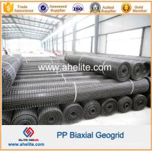 Géogrille biaxiale en polypropylène haute résistance