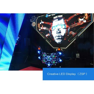 Customizable Light Weight 3D Irregular LED Display