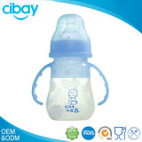 OEM silicone new design new product silicone anti-colic baby bottle(new design)