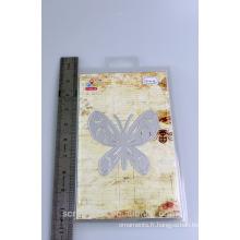 2016 mode Noël alibaba Chine fournisseur beau papier coupe papillon pour scarpbooking