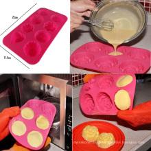 Whole Sales Cute Shape Multi-Shape Silicone Rose Cake Mold