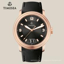 Relógio de aço inoxidável marca com movimento automático 72010