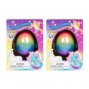 SET OF 2 SURPRISE GROWING UNICORN EGG TOYS-0
