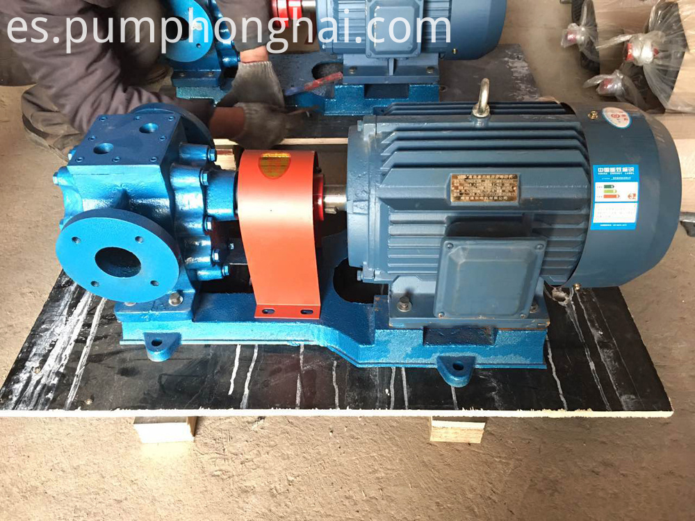 high temperature bitumen transfer gear pump 1