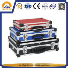 Caixas de armazenamento de ferramenta do metal resistente de alumínio (HT-1102)
