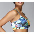 Ladies Printed Sport Suits Bra & Legging Fitness