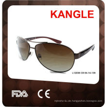 2017 neue einzigartige populäre Art-Mode polarisierte CE / FDA Metall Sonnenbrille