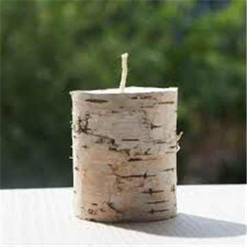 real birch bark candle 03
