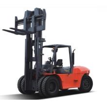 Hydraulische 10 Ton Isuzu Diesel Gabelstapler,