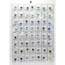 Tabla de colores de vidrio B2