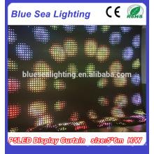 Rideau LED intérieur Éclairage LED Curtain Flexible LED Display