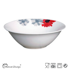 Cheap Ceramic Flowere Deisgn Porcelain Bowl