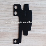 Black power coated high quality metal punching parts
