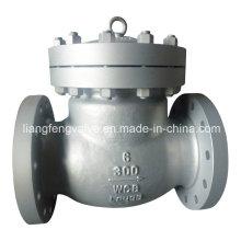 Válvula de retenção Flange End Swing Type Carbon Steel
