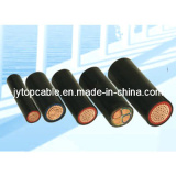 Low Voltage Electrical Cable LV PVC Electric Cable 1kv PVC Insulated Power Cable 0.6/1kv Electrical Cable Low Voltage Cu/PVC/PVC Cable