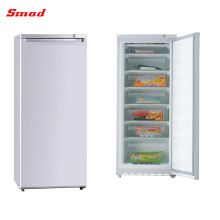 Household use reversible solid single door upright freezer