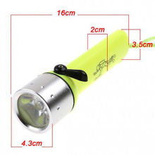 china supplier scuba diving light Underwater LED diving led torch 18650 Torch Lamp Light, diving torch light