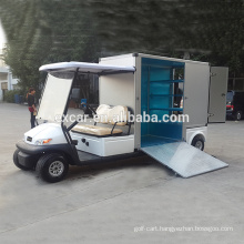 Electric Fuel Type,48V 2 Seaters with functional cargo transport golf cart for sale