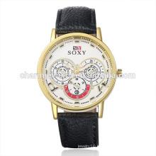 Самые продаваемые товары Vogue кварцевые наручные часы из натуральной кожи SOXY003