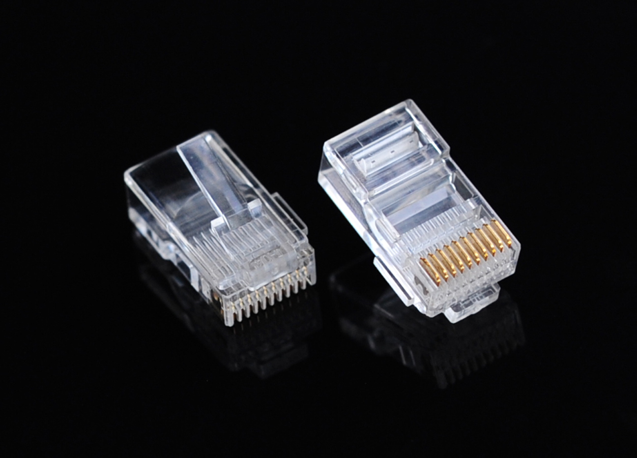 RJ48 Unshielded Connector 10 Pin