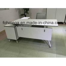 L Form White Melamine Executive Schreibtisch Büromöbel (FOH-SM1716)