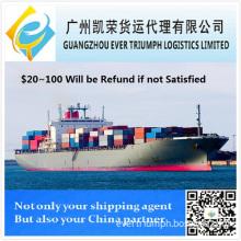 Shipping Container From Shenzhen, Guangzhou, Shanghai, Ningbo, China to Baku, Azerbaijan