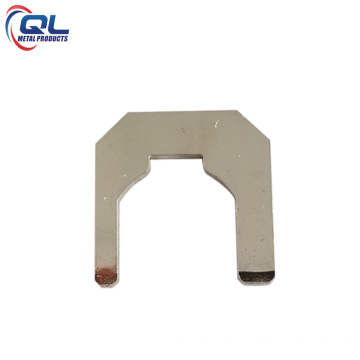 0.8mm Brass Sheet Metal Parts with Nickel Plating