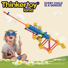 Brinquedos Educativos DIY 3D Puzzle Brinquedos Building Blocks