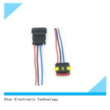 Arnés de cable auto del conector del coche femenino masculino masculino del Pin de precio de fábrica 4
