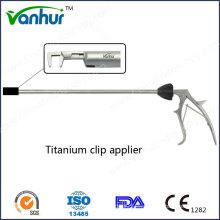 Instrumentos quirúrgicos Reutilizable Titianium Clip Applier