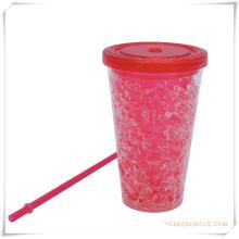 Tasse de glace à double paroi Tasse de bière glacée à glace pour cadeaux promotionnels (HA09076)
