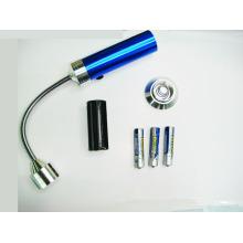 Antenna LED extendable Battery Operated Lights telescopic flexible led flashlight magnetic base light