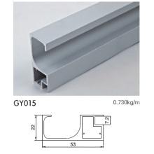Perfil de armação de alumínio do gabinete de cozinha com barra de alça