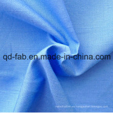 100% Hilado de algodón Tejido Tejido Tejido (QF13-0392)