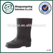 Men Rain Boots plastic rain boots A-909