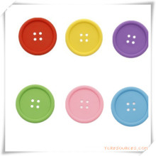 Forma de botón Coaster / mantel individual para promoción