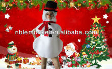popular fancy snowman costume party dress for cosplay