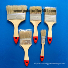 "1-4""Bristle Wooden or Plastic Handle Paint Brush"