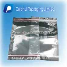 500g Transparent ziplock packaging bags/resealable food grade plastic bags packing bag for nuts