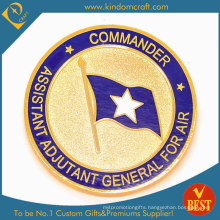 Suppply Custom Air National Guarder Gold Coin (KD-105)