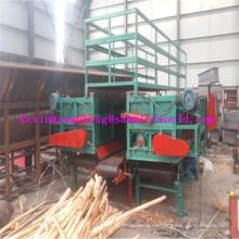 Máquina Debarking del registro del Debarker de madera de la eficacia directa de la venta directa de la fábrica con la ranura doble