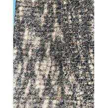 Brush Slub Rib Sweater fabric