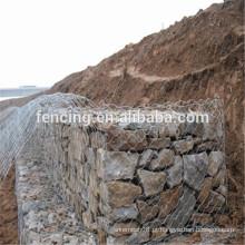 gabião gaiola para proteger encosta (China fornecedor)