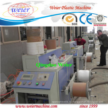 Полностью автоматическая линия для производства ленточных лент PP с одновинтовым экструдером
