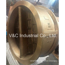 Wafer Ni-Al-Bronze Duo-Plate Check Valve