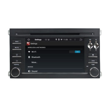 Porsche car android system dvd player