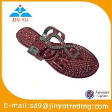 Zapato de las sandalias de la jalea del pvc de 2014